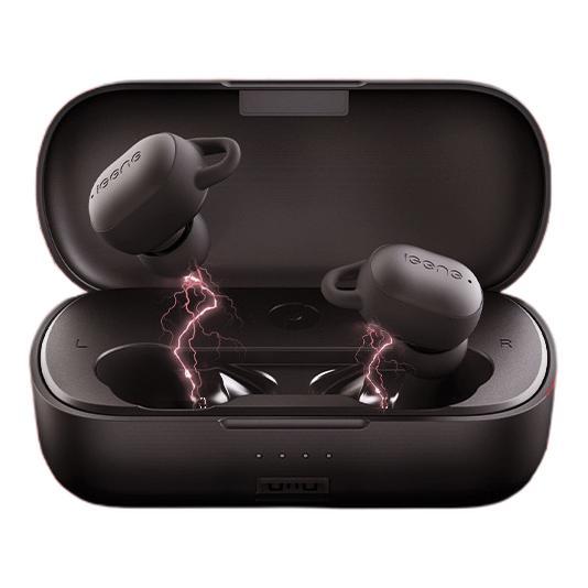 iGene 击音 VC真无线蓝牙耳机 主从切换 运动跑步hifi入耳式音乐游戏耳机双耳通话降噪手机耳麦联想黑