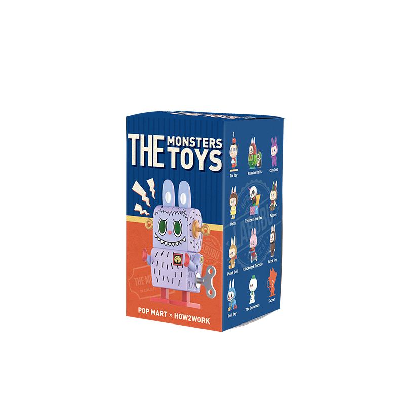 POP MART 泡泡瑪特 LABUBU精靈玩具系列 盲盒