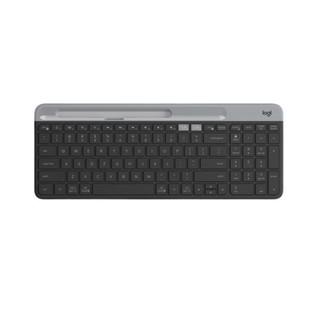 logitech 罗技 K580 87键 双模无线薄膜键盘 黑色 无光