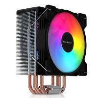 限地区:Huntkey 航嘉 冷静王 冰封400R炫动版 CPU风冷散热器