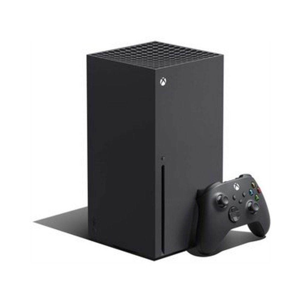 Microsoft 微软 Xbox Series X 4K游戏主机 黑色