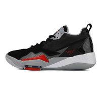 AIR JORDAN Jordan Zoom 92 男子篮球鞋 CK9183-001 黑红灰 42.5