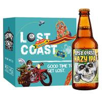 LOST COAST 迷失海岸 幽灵浑浊 IPA啤酒 355ml*6瓶