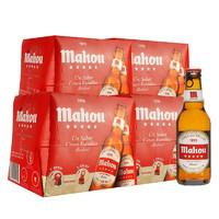 PLUS会员:mahou 马傲 拉格啤酒 250ml*24瓶