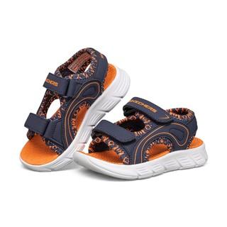 SKECHERS 斯凯奇 男童透气运动凉鞋