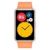 HUAWEI 华为 WATCH FIT 活力款 智能手表 46mm 蜜瓜橙聚合纤维表盘 蜜瓜橙硅胶表带(血氧、GPS)