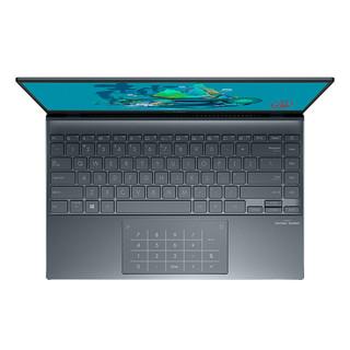ASUS 华硕 灵耀14 2020款 14英寸笔记本电脑(i5-1035G1、8GB、512GB、100%sRGB)松木青