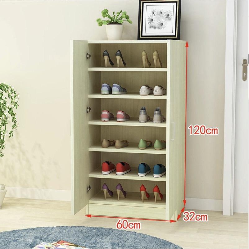 JYA/金亿奥 家用门口大容量实木鞋柜 120*60*32cm