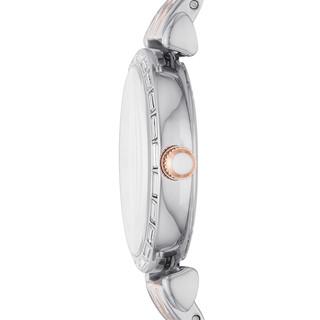 阿玛尼( Emporio Armani)手表 2020年秋季新品贝母镶钻钢带时尚休闲百搭女士腕表 AR11290