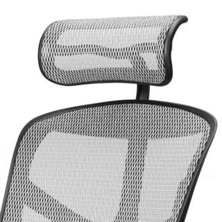 Ergonor 保友办公家具 金卓系列 人体工学电脑椅 银白色 铝合金脚
