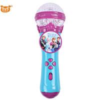 贝芬乐迪士尼冰雪奇缘儿童玩具灯光麦克风话筒早教启蒙益智玩具乐器音乐唱歌男孩女孩宝宝玩具