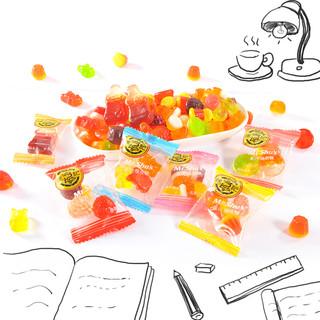 徐福记果汁橡皮糖混合QQ软儿童水果糖果散装婚庆喜糖零食旗舰店 混合口味500克