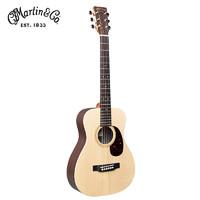 马丁(MARTIN)LX1RE单板旅行电箱吉他34英寸云杉面板玫瑰木背侧板 新品原装进口