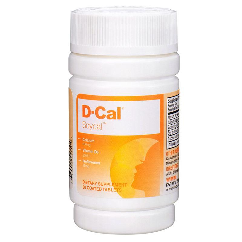 临期品 : D-Cal 迪巧  秀源钙女性钙片 30粒 (效期至2021年6月5日)