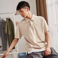 Tonlion 唐狮  62421FC0141426850 男士T恤