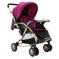 宝宝好 C3-112 婴儿推车 紫色