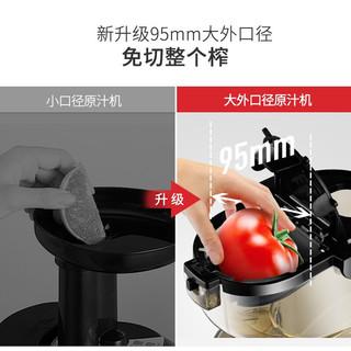 贝尔斯顿(Bestday) 8022D 大口径原汁机慢速多功能榨汁机去渣家用商用汁渣分离果汁机料理机 8022D
