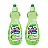 狮王(Lion) 妈妈柠檬果蔬餐具洗洁精 600ml 天然柠檬清香型 日本进口 2瓶