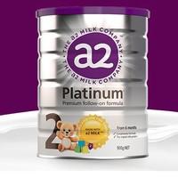 a2 艾尔 Platinum系列 较大婴儿奶粉 澳版 2段 900g
