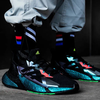 Adidas阿迪达斯跑步鞋男鞋春夏新款官方网低帮缓震boost中底轻便透气运动鞋FW4910