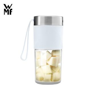 WMF德国福腾宝榨汁机便携榨汁杯充电搅拌杯家用榨汁杯便携搅拌机USB充电大容量电池便携随行榨汁杯 0416709911 象牙白