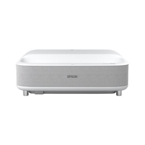 新品发售:EPSON 爱普生 EH-LS300W 家用超短焦智能激光电视 含88英寸专用菲涅尔硬屏抗光幕+上门安装调试