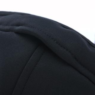 伯希和抓绒口罩男女新款保暖透气秋冬防风防寒防尘骑行口罩 16045607-KZ07604 曜石黑