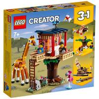 LEGO 乐高 创意系列 31116 野生动物树屋