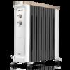 奥克斯NSC-220-12A5油汀取暖器电暖风机暖器电热油丁片省电静音节能电暖气家用 白+黑