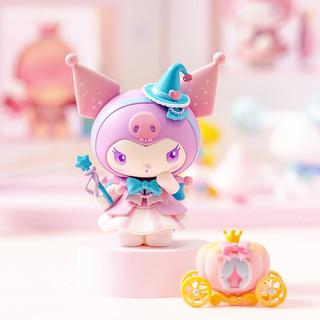 名创优品三丽鸥梦幻系列盲盒摆件公仔少女心潮玩手办玩具生日礼物 整盒装-8个(6个不重复)