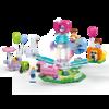 古迪(gudi)女孩积木拼装玩具摩天轮游乐场系列6-12岁生日礼物 旋转动物-9612