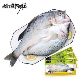 京东PLUS会员:好渔阿聪 三去白蕉海鲈鱼 净膛后 600g
