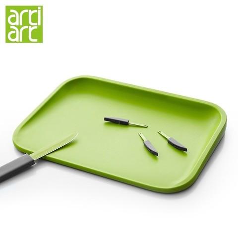 Artiart  刀叉组合多功能切菜板