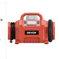 12日0点:DEVON 大有 5940-Li-20 20V锂电充气泵