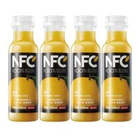 京东PLUS会员 : NONGFU SPRING 农夫山泉 农夫山泉 NFC果汁(冷藏型)鲜榨橙汁 300ml*4瓶