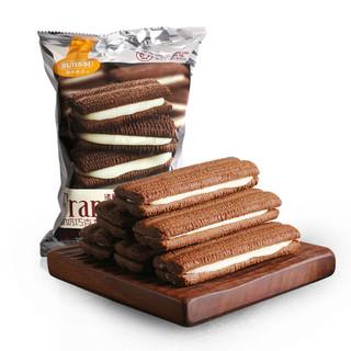Franzzi 法丽兹 夹心曲奇饼干 酸奶巧克力味 95g