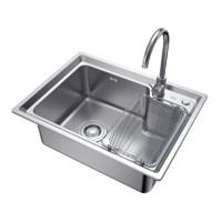 annwa 安华  304不锈钢加厚水槽单槽 58*43cm