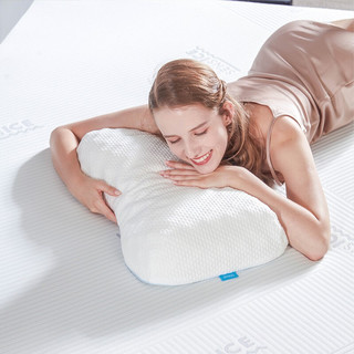 CatzZ 瞌睡猫 泰国进口乳胶枕芯狼牙枕 57*35*9/11cm