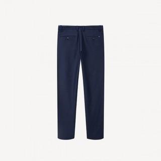 HLA 海澜之家  HKCAD1R002A02 男士休闲裤