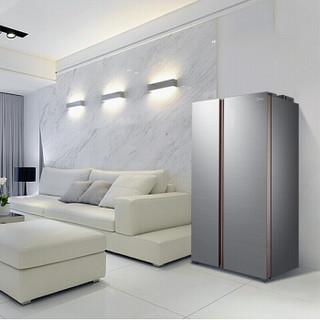 美的(Midea)640升家用变频风冷无霜对开门智能wifi电冰箱BCD-640WKGPZMB