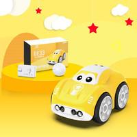 DEERC 遙控汽車智能跟隨感應嘟嘟車電動玩具車兒童賽車男孩女孩禮物六一兒童節禮物 魔術手控車-魅力黃