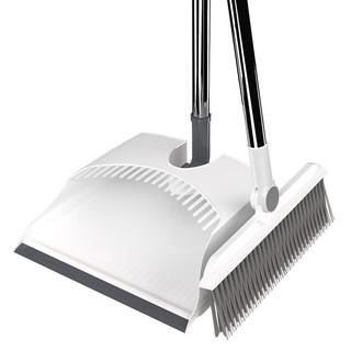 雅高 扫把簸箕套装组合 家用软毛扫地扫头发可折叠扫帚