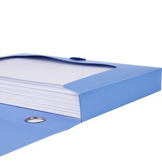 信发 TRNFA TN-838 档案盒10个装55mm PP塑料档案盒 加厚资料文件盒 财务办公文件收纳盒
