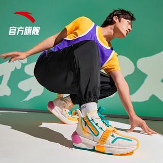 ANTA篮球鞋男鞋七龙珠联名款2020冬季新品高帮篮球鞋男运动鞋子 悟天克斯-12 8(男41)