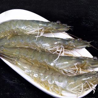 生鲜海鲜批发基围虾鲜活新鲜虾活虾子对虾海虾水产 4斤装 9-11厘米