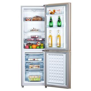 上菱冰箱节能静音省电家用租房大容量冷藏冷冻电冰箱 183升双门金 183升金色双门