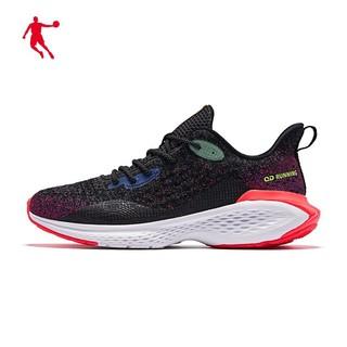 QIAODAN 乔丹 乔丹运动鞋男鞋2021春季耐磨网面减震跑鞋休闲鞋跑步鞋男