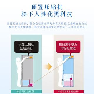 松下(Panasonic) 380升  变频风冷无霜多门冰箱玻璃面光合保鲜银离子净味 NR-DE39TXP-S