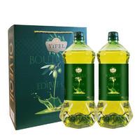 逸飛 食用油 橄欖食用調和油禮盒1.5LX2瓶  精品年貨禮盒團購福利酒席回禮