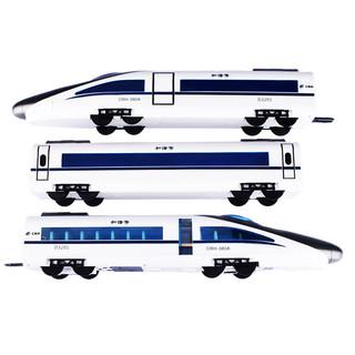 DOUBLE E 双鹰无线遥控车高铁模型火车男孩玩具可开门语音报站和谐号动车儿童礼物